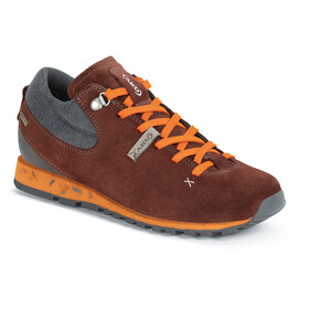 AKU Bellamont Gaia GTX Chaussures Femme, wine red/orange